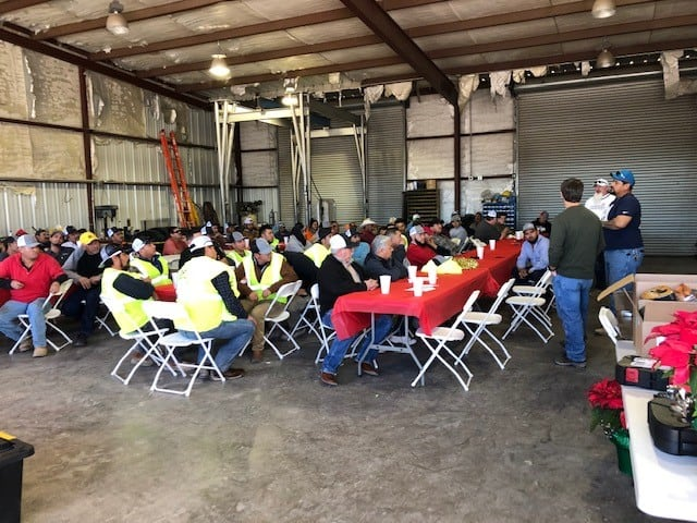 XIT Paving Christmas Party 2019